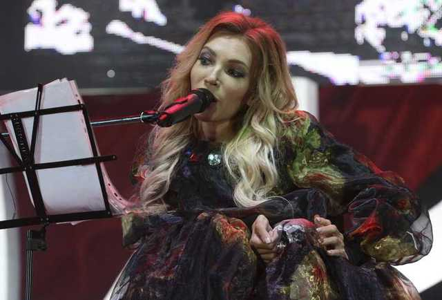 Banned from Eurovision, Russian singer performs in Crimea