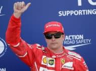 Raikkonen takes Monaco pole on Ferrari front row