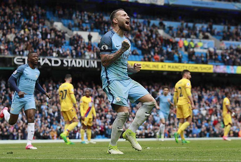 Man City thrashPalaceto move into third place