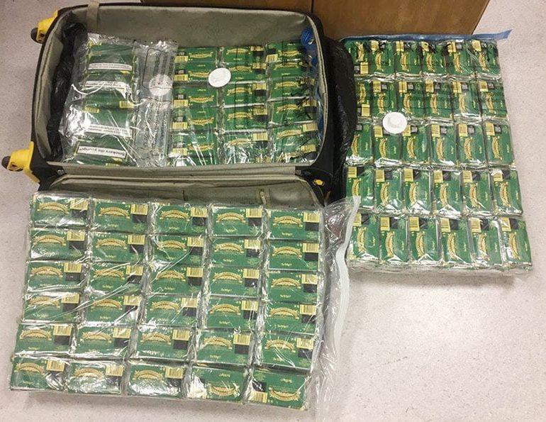 Illegal tobacco seized