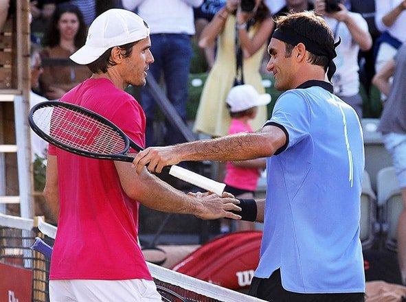 Haas cuts Federer comeback short in Stuttgart