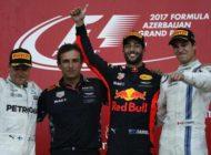 Ricciardo wins chaotic Azerbaijan Grand Prix, Vettel penalised