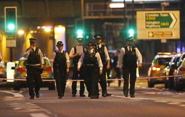 Vehicle hits pedestrians near London mosque, causing casualties