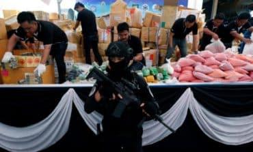Myanmar, Thailand incinerate illicit drugs worth $800m