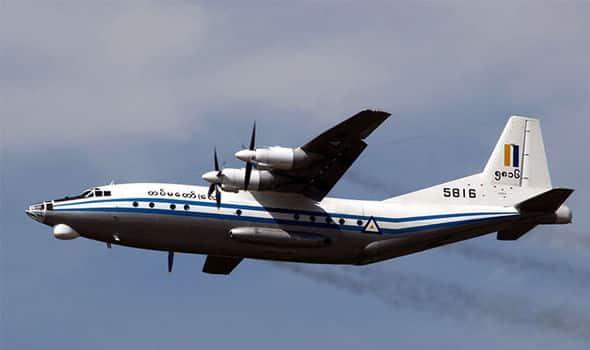 Myanmar army plane vanishes over Andaman Sea