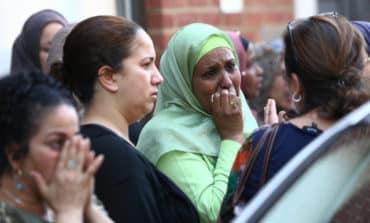 Children lost, baby thrown to safety in London blaze