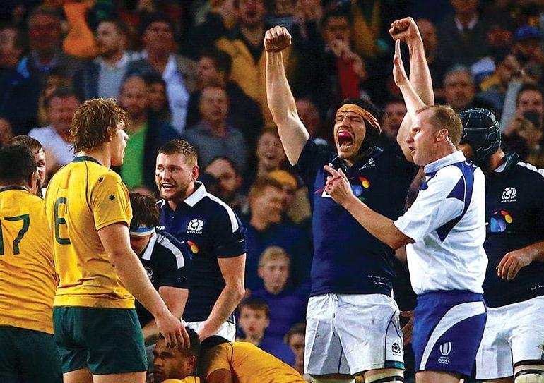 Scotland stun Australia for memorable win