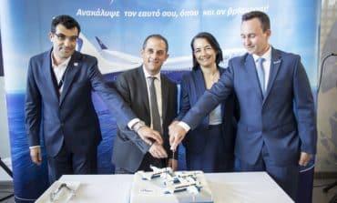 Blue Air -  expansion of its aircraft fleet at its Larnaca base