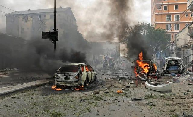 Car bomb in Somali capital Mogadishu kills six – police officer (Update 1)
