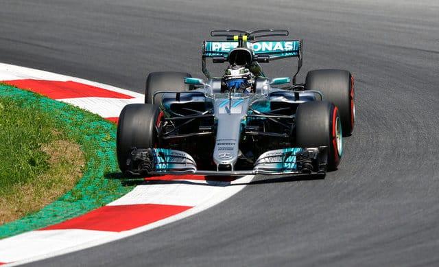 Bottas on pole for Austrian Grand Prix