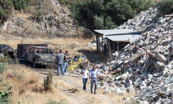 Charred body found in blazing car (updated)