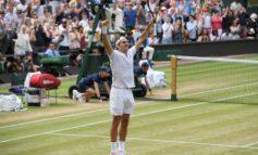 Federer wins record eighth Wimbledon title