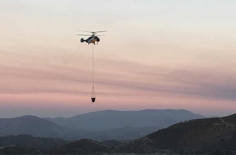 Fire in Droushia (updated)