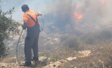 Kivides fire under control