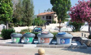 Ayia Napa installs recycling bins
