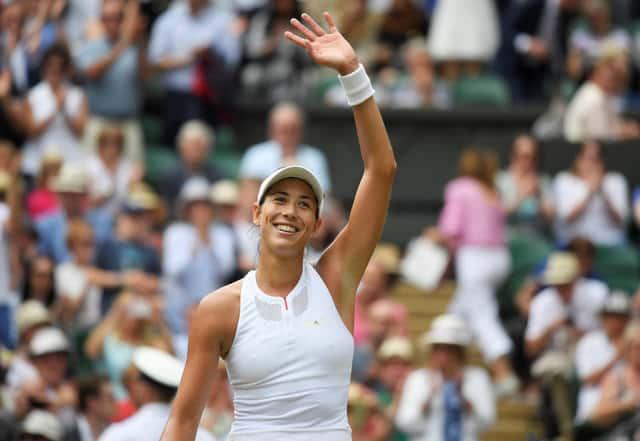 Muguruza crushes Rybarikova to reach Wimbledon final
