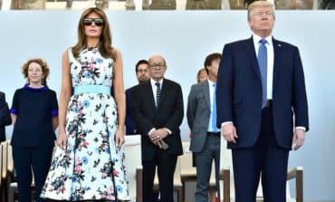 Bastille Day march-past closes Trump's Paris visit
