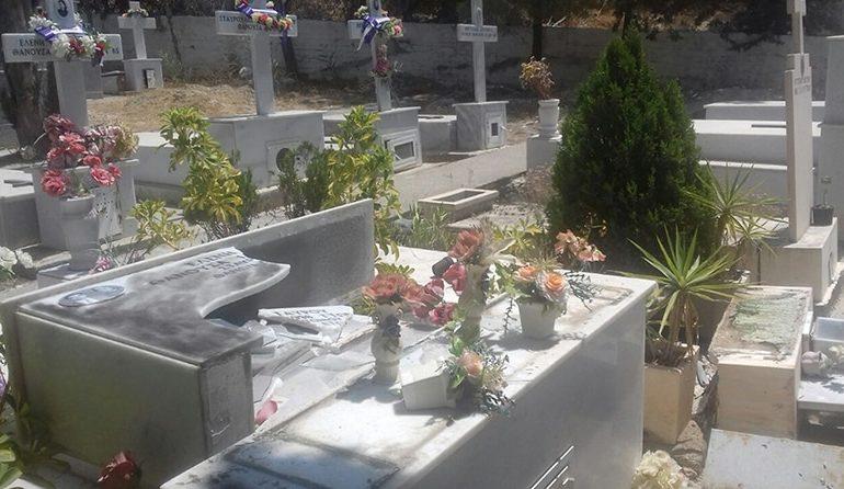 Kalavasos cemetery desecrated, graves vandalised