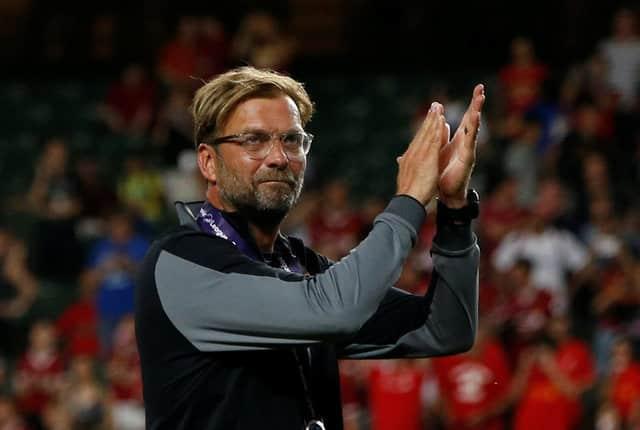 Liverpool have sights set on title, says Klopp