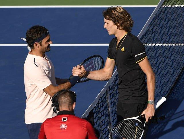 Federer stunned by Zverev in Montreal final