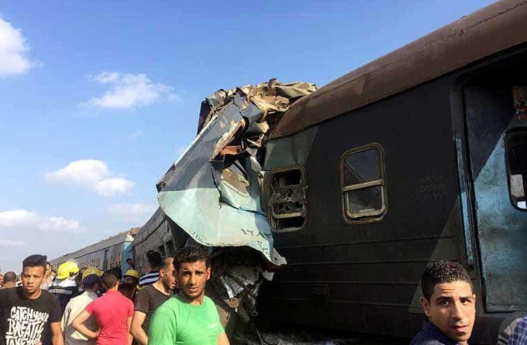 Egypt train crash kills 36, injures more than 100