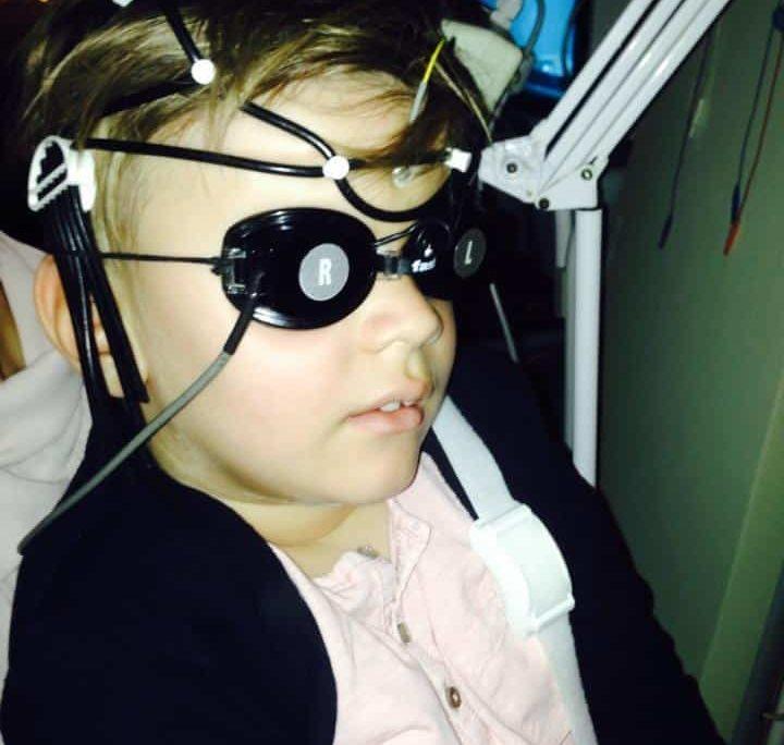 Doctors believe blind Dani will see