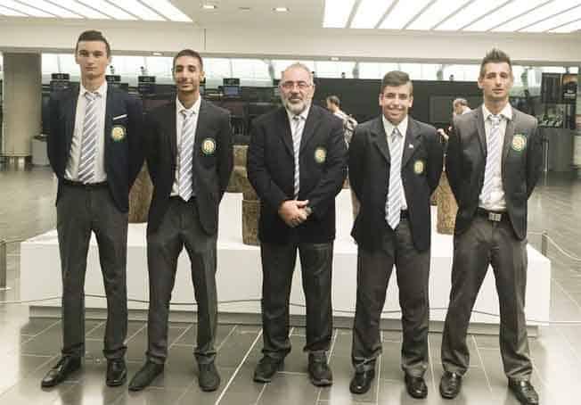 Cyprus golf team ready for European Team Shield Championship