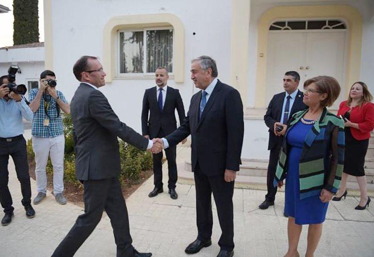 Akinci lauds Eide as a 'true friend' of Cypriots