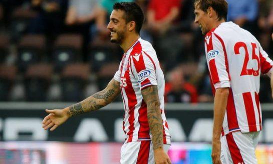 Newcastle sign Spanish striker Joselu from Stoke
