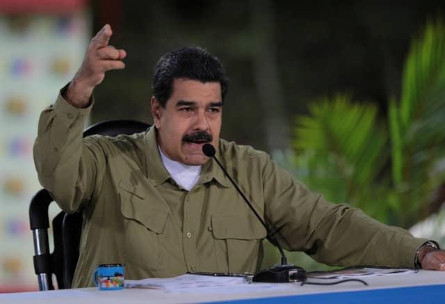 Don't blame me for Venezuela crisis, says Maduro