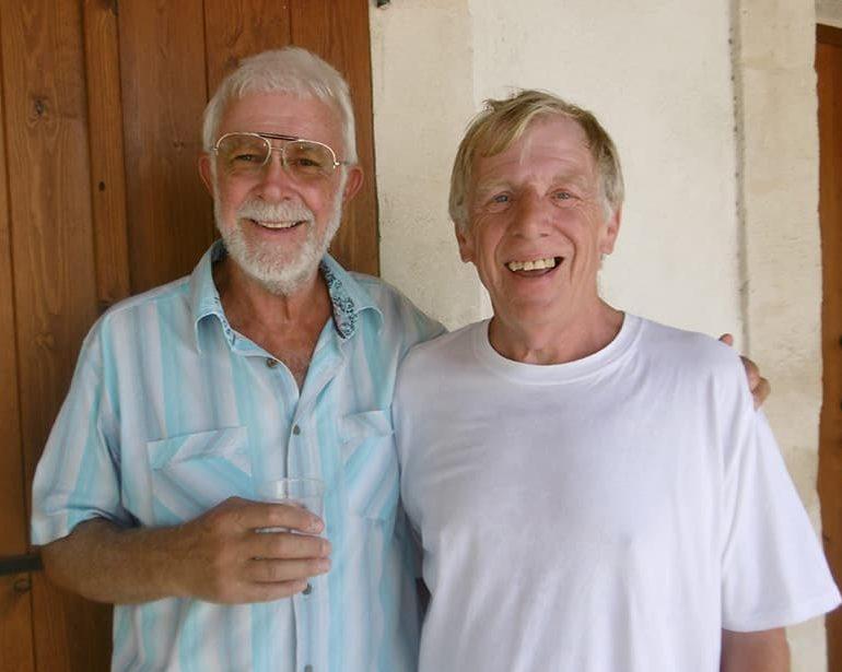 A Minute with Geoff Eccleston Archangel Michael Hospice Garden of Memories Project Coordinator