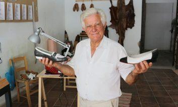 Paphos shoe maker keeps celebs well heeled