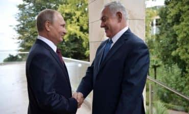 Netanyahu to Putin: Iran's growing Syria role threatens Israel