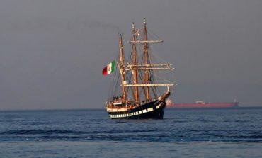 Stunning Italian sailing ship to dock at Larnaca