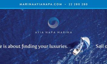 Upgrade of AYIA NAPA MARINA'S international image