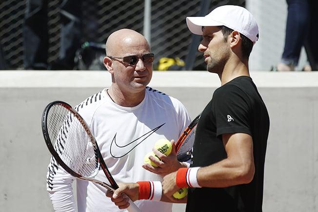 Djokovic to keep Agassi as head coach
