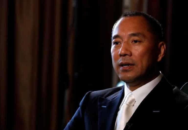Exiled Chinese tycoon Guo seeking asylum in US