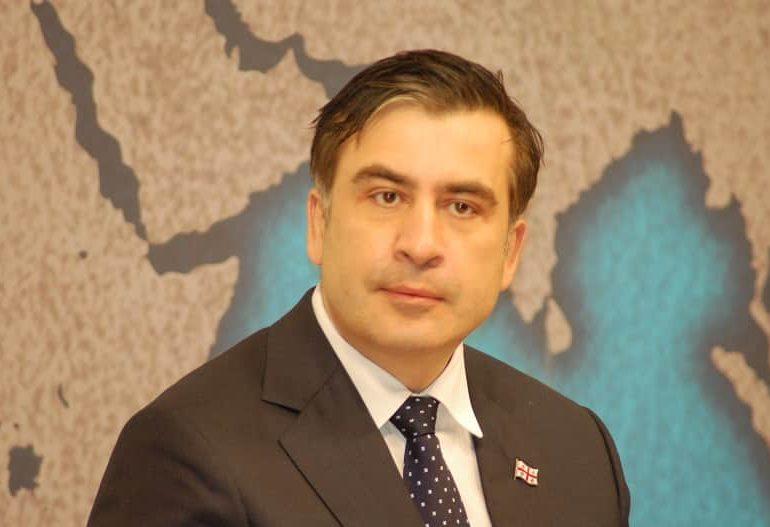 Ex-Georgian leader Saakashvili barges across Ukraine border