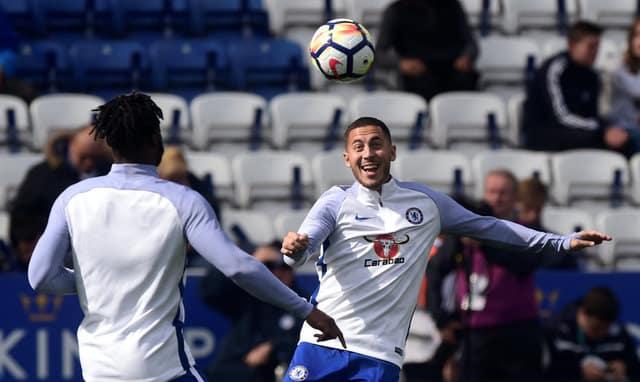 Hazard hopeful for Champions League title win