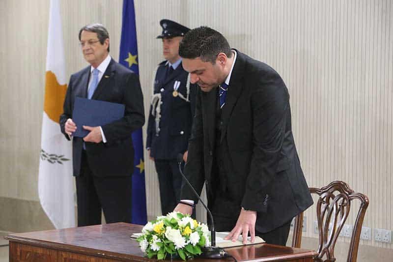 Interior Minister: Constantinos Petrides