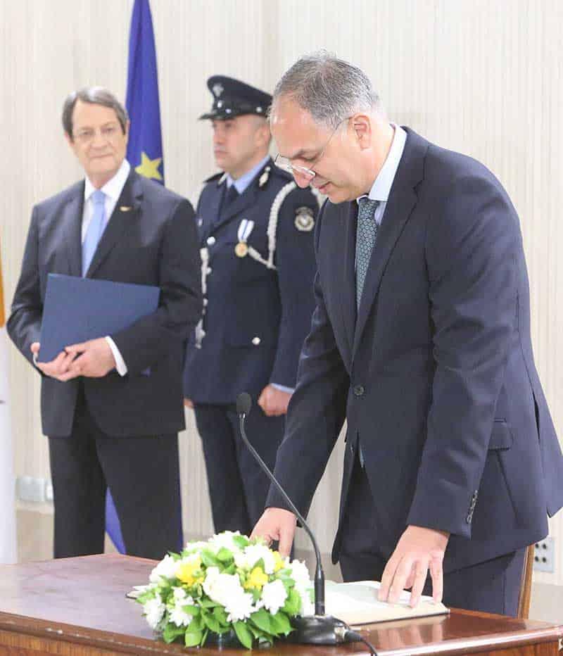 Agriculture Minister: Costas Kadis