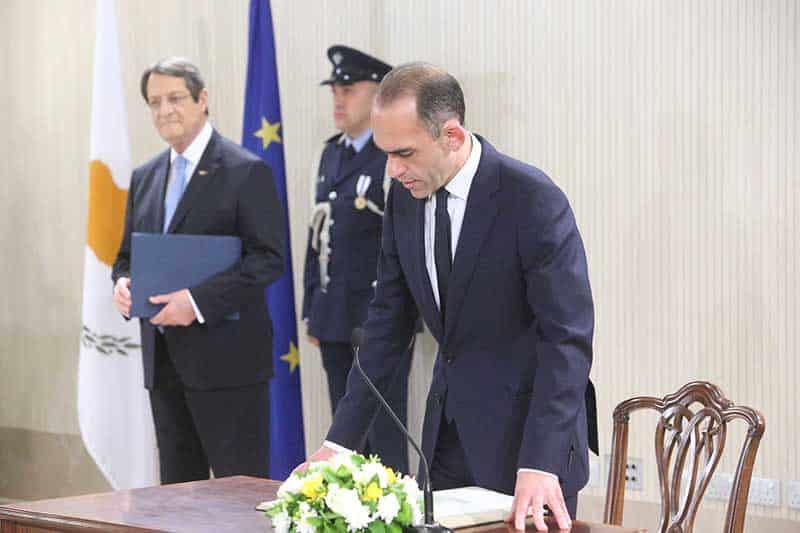 Finance Minister: Harris Georgiades