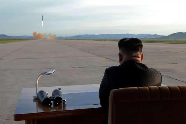 German spy agency said North Korean rockets can reach Europe -paper
