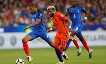 France thrash 10-man Dutch with Lemar double