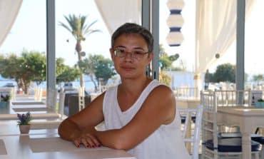 A Minute with Tatiana Efremtseva Owner of Blue Diamond restaurant, Yeroskipou beach