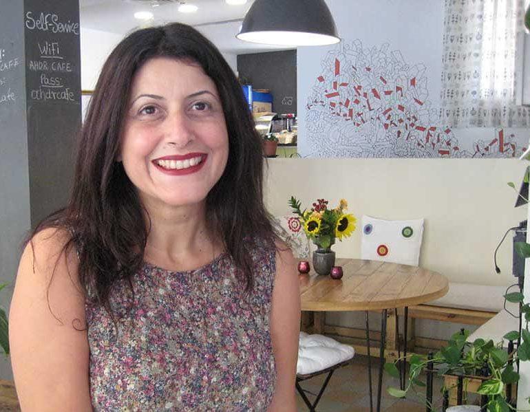 Turkish Cypriot activist finds herself somewhere in between