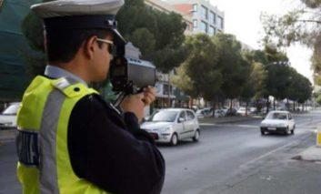 Police arrest speeding driver