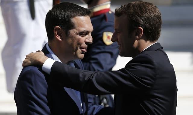 Macron pushes vision of deeper eurozone integration