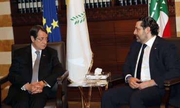 Hariri well, president says after phone call