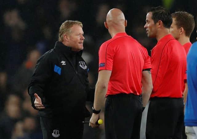 Everton boss Koeman defends players after Lyon scuffle